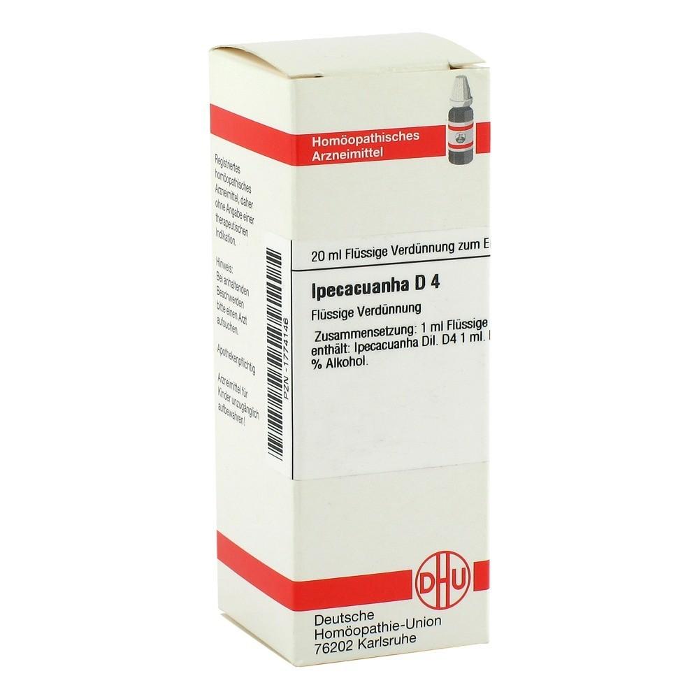IPECACUANHA D 4 Dilution 20 Milliliter N1 online bestellen ...