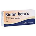 BIOTIN BETA 5 Tabletten 50 Stück N2