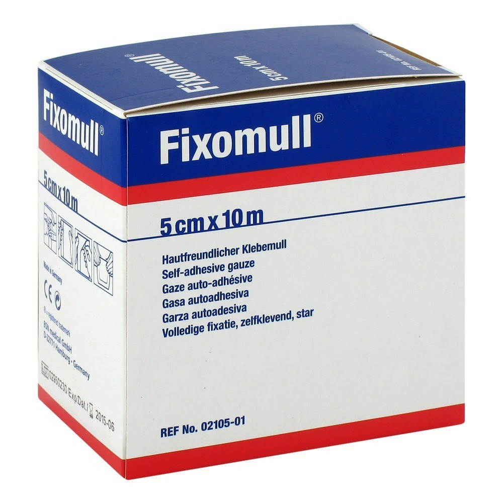 FIXOMULL Klebemull 5 cmx10 m 1 Stück