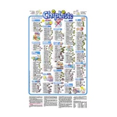 CHIPLISTE Poster 1 Stück