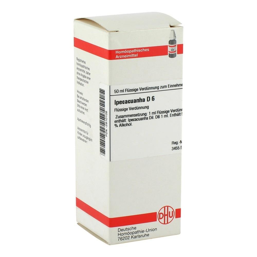 IPECACUANHA D 6 Dilution 50 Milliliter N1 online bestellen ...