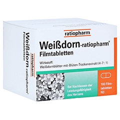 Weißdorn-ratiopharm 100 Stück N3