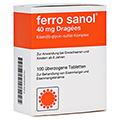 Ferro sanol 40mg Dragees 100 Stück N3