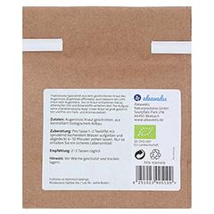 Augentrost Tee bio 100 Gramm - Rückseite