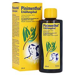 Pinimenthol Erkältungsbad ab 12 Jahre 190 Milliliter