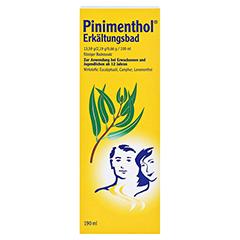 Pinimenthol Erkältungsbad ab 12 Jahre 190 Milliliter - Vorderseite