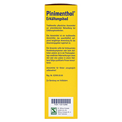 Pinimenthol Erkältungsbad ab 12 Jahre 190 Milliliter - Rechte Seite