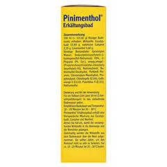 Pinimenthol Erkältungsbad ab 12 Jahre 190 Milliliter - Linke Seite