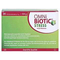 OMNi BiOTiC Stress Beutel 28x3 Gramm - Rückseite