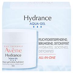 Avène Hydrance Aqua-Gel + gratis AVENE Mizellen Reinigungslotion 100 ml 50 Milliliter - Vorderseite