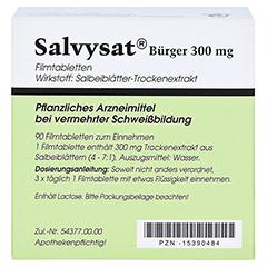 Salvysat Bürger 300mg 90 Stück - Rückseite