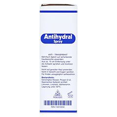 ANTIHYDRAL Spray 30 Milliliter - Linke Seite
