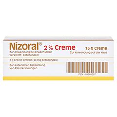 Nizoral 2% 15 Gramm - Vorderseite