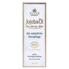 Jojoba Öl 100% Wilco Classic 100 Milliliter - Vorderseite
