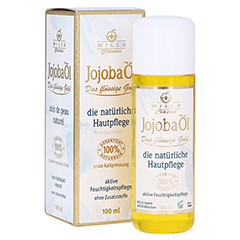 Jojoba Öl 100% Wilco Classic 100 Milliliter