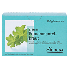 Sidroga Frauenmantelkraut 20x1.0 Gramm - Vorderseite