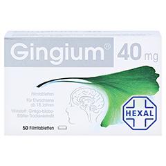 Gingium 40mg 50 Stück - Vorderseite