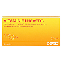 Vitamin B1-Hevert 10 Stück N2 - Vorderseite
