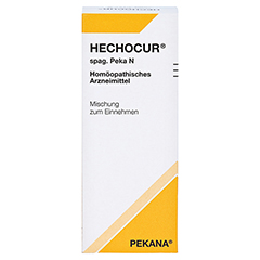 HECHOCUR spag.Peka N Tropfen 100 Milliliter N2 - Vorderseite