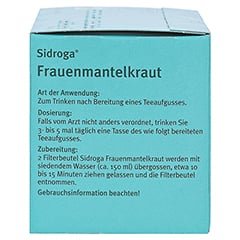 Sidroga Frauenmantelkraut 20x1.0 Gramm - Linke Seite