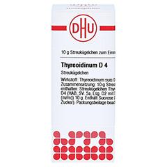 THYREOIDINUM D 4 Globuli 10 Gramm N1 - Vorderseite