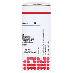 THYREOIDINUM D 4 Globuli 10 Gramm N1 - Rechte Seite