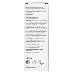 Aloe Vera Creme medium ohne Duft 30 Milliliter - Rückseite