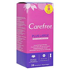 CAREFREE large maxi fresh Slipeinlagen 28 Stück