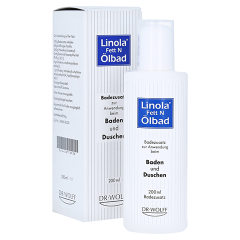 Linola Fett N Ölbad 200 Milliliter N1