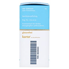 BIOCHEMIE DHU 5 Kalium phosphoricum D 6 Tab.Karto 200 Stück N2 - Rechte Seite