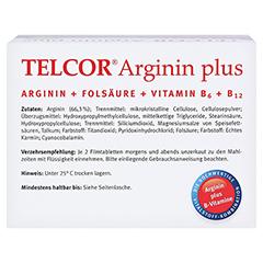 Telcor Arginin plus Filmtabletten 2x240 Stück - Oberseite