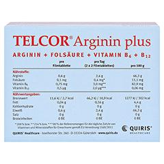 Telcor Arginin plus Filmtabletten 2x240 Stück - Unterseite