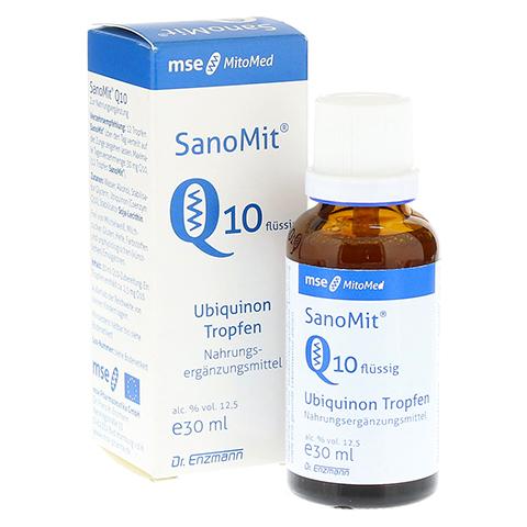 Q10 SANOMIT flüssig MSE Tropfen 30 Milliliter
