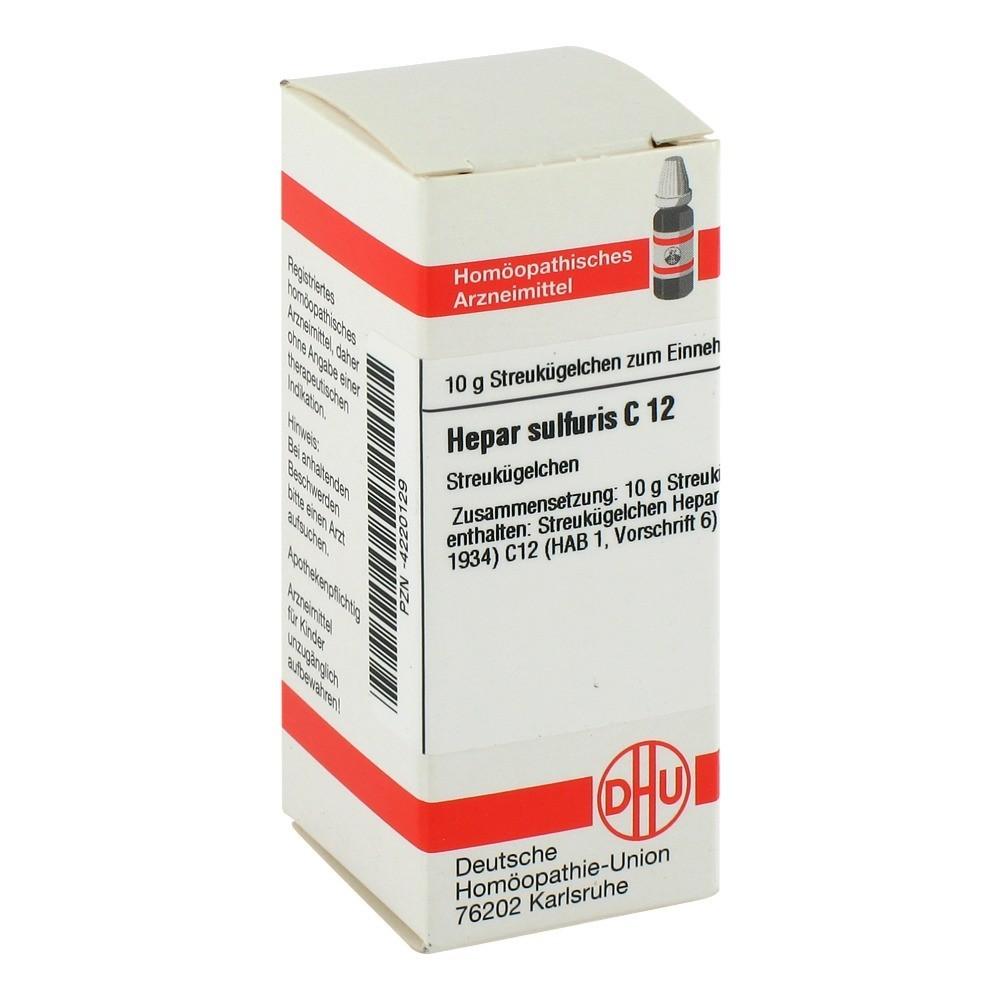 HEPAR SULFURIS C 12 Globuli 10 Gramm N1 online bestellen