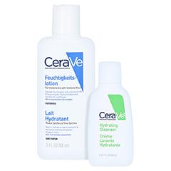 CERAVE Feuchtigkeitslotion + gratis Cerave Feuchtigkeitsspendende Reinigungslotion 20 ml 88 Milliliter