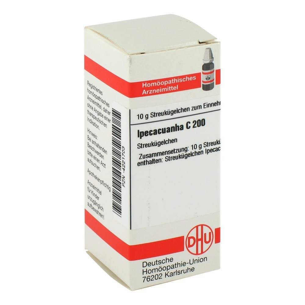 IPECACUANHA D 6 Tabletten 200 Stück - medpex DE