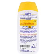 LADIVAL norm.bis empfindl.Haut Lotion LSF 50 200 Milliliter - Rückseite