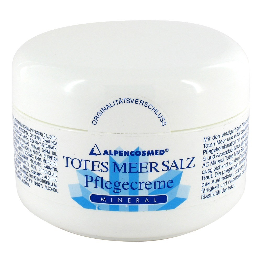 totes meer salz mineral pflegecreme ac 200 milliliter. Black Bedroom Furniture Sets. Home Design Ideas