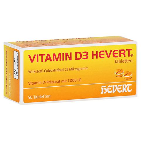 VITAMIN D3 Hevert Tabletten 50 Stück N2