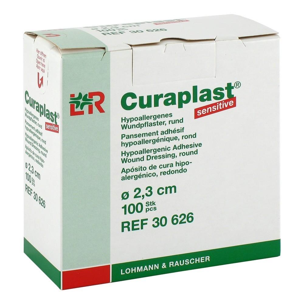 curaplast-strips-sensitiv-rund-2-3-cm-100-stuck, 8.99 EUR @ medpex-de