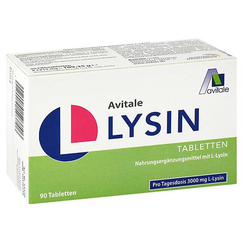 Avitale L-Lysin 750 mg 90 Stück