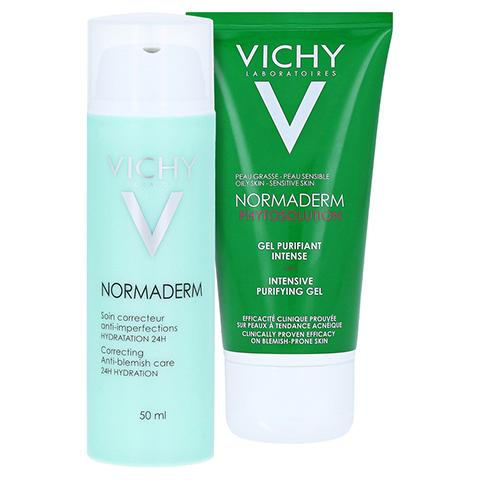 Vichy Normaderm 24h Feuchtigkeitspflege + gratis Vichy Normaderm intensive Reinigung 50 ml 50 Milliliter