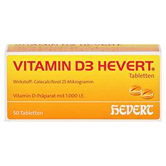 VITAMIN D3 Hevert Tabletten 50 Stück N2 - Vorderseite