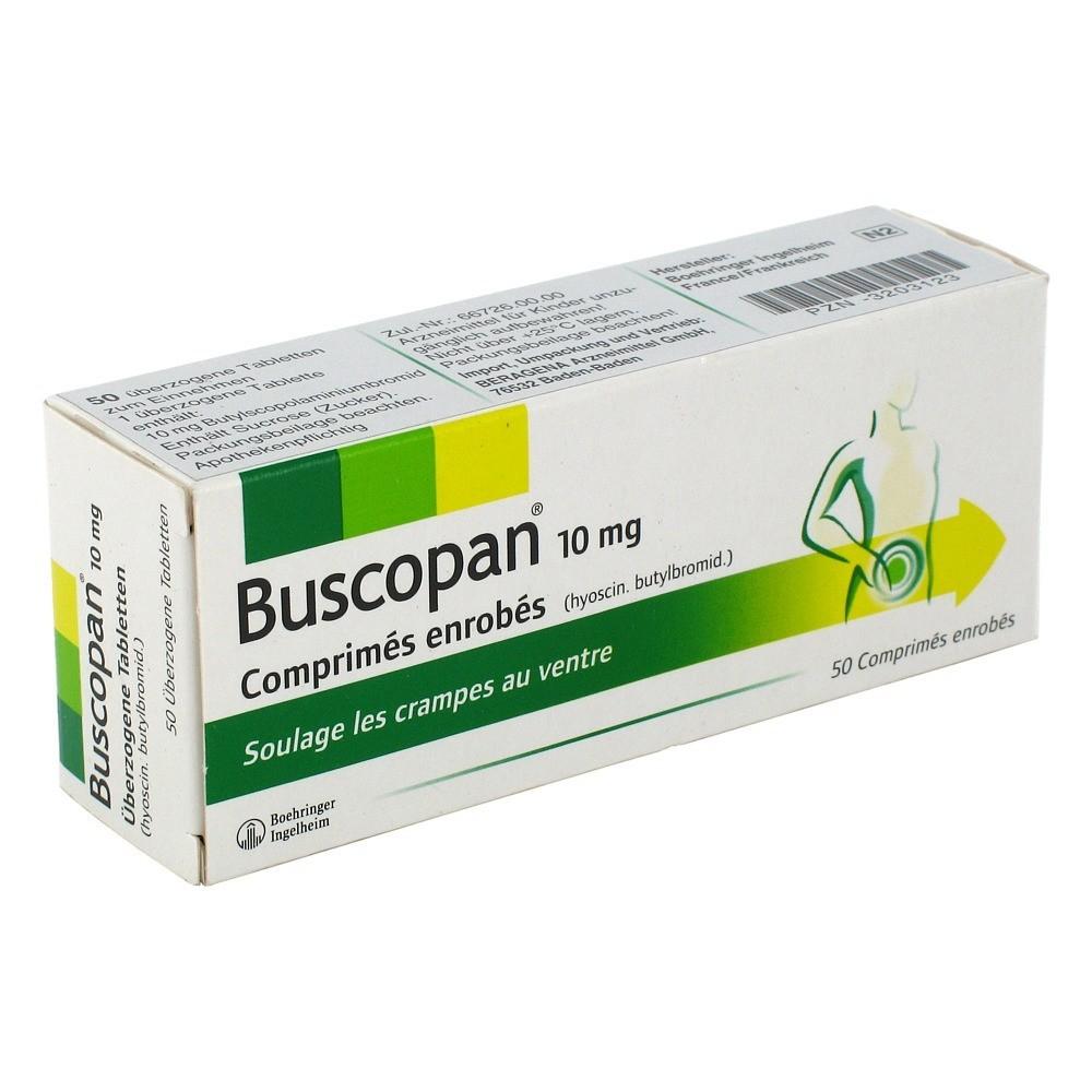Buscopan Überzogene Tabletten 50 Stück