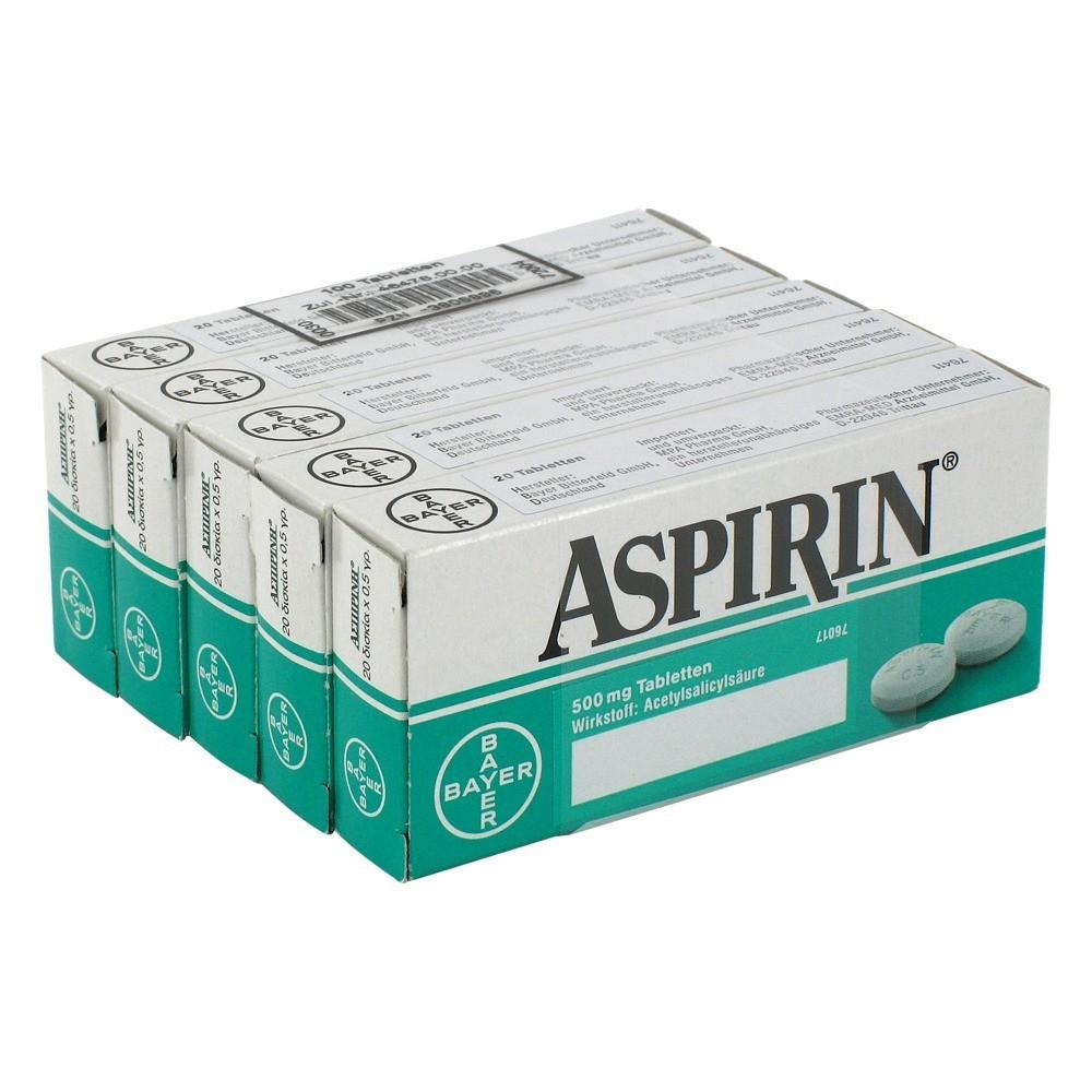 erfahrungen zu aspirin tabletten 100 st ck medpex. Black Bedroom Furniture Sets. Home Design Ideas