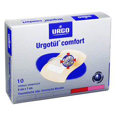 URGOTÜL comfort 5x7 cm Verband 10 Stück