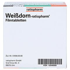Weißdorn-ratiopharm 100 Stück N3 - Unterseite