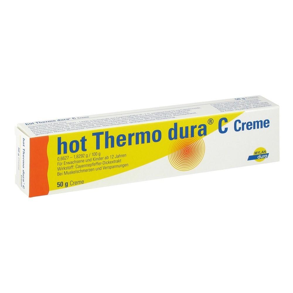 erfahrungen zu hot thermo dura c 50 gramm n2 medpex versandapotheke. Black Bedroom Furniture Sets. Home Design Ideas
