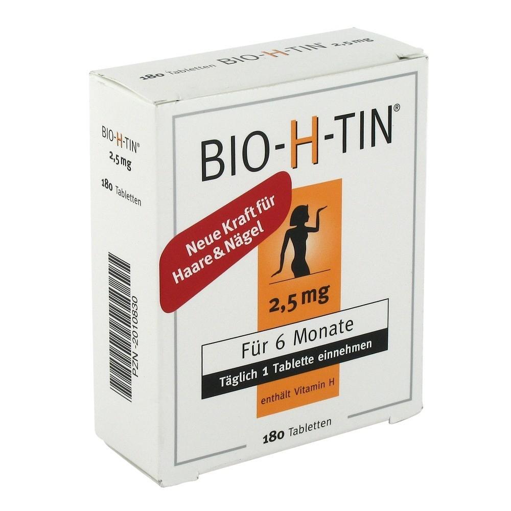 erfahrungen zu bio h tin 2 5 mg fuer 6 monate tabletten. Black Bedroom Furniture Sets. Home Design Ideas