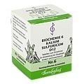 BIOCHEMIE 6 Kalium sulfuricum D 12 Tabletten 80 Stück N1